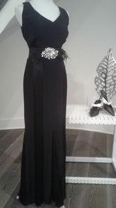 Bravissimo paneled fishtail maxi dress